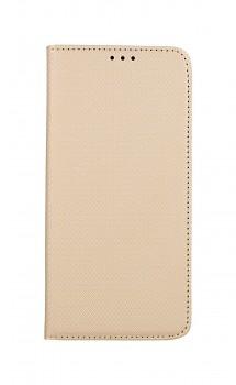 Knížkové pouzdro Smart Magnet na Samsung A42 zlaté