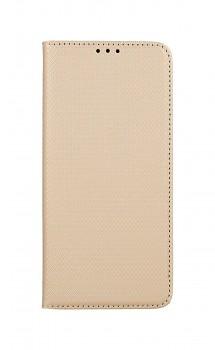 Knížkové pouzdro Smart Magnet na Samsung A52 zlaté