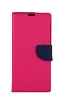 Knížkové pouzdro na Samsung A12 růžové