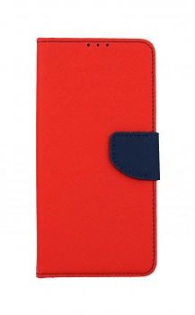 Knížkové pouzdro na Samsung A12 červené