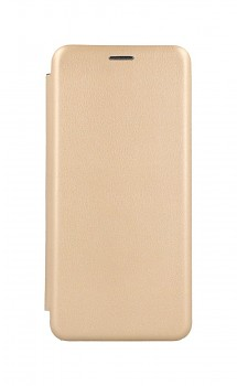 Knížkové pouzdro Forcell Elegance Book na Samsung A12 zlaté