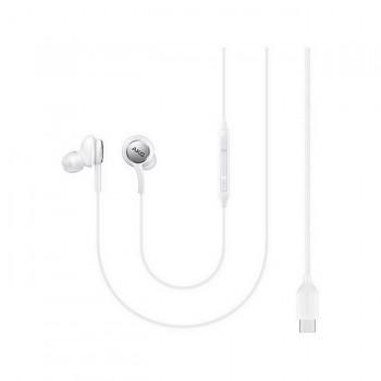 Originální sluchátka Samsung GH59-15107A s USB-C (Type-C) konektorem bílá