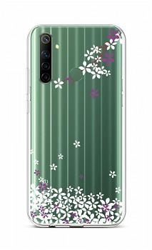 Zadní silikonový kryt na Realme 6i Květy sakury