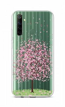 Zadní silikonový kryt na Realme 6i Blossom Tree