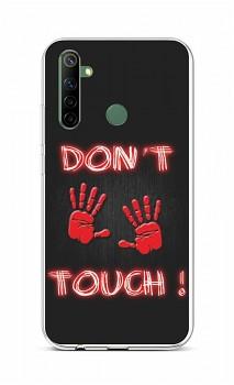 Zadní silikonový kryt na Realme 6i Don´t Touch Red