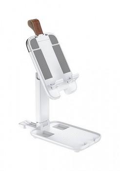 Stojánek na mobil teleskopický HOCO Excelente S28 bílý