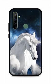 Zadní silikonový kryt DARK na Realme 6i White Horse