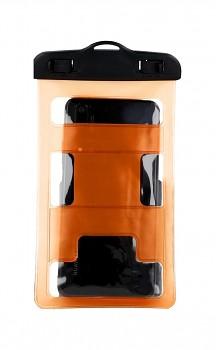 Univerzální vodotěsné pouzdro na mobil Typ 2 oranžové
