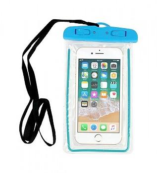 Univerzální vodotěsné pouzdro na mobil Typ 1 modré