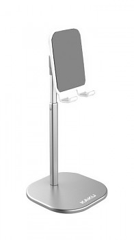 Stojánek na mobil KAKU stříbrný