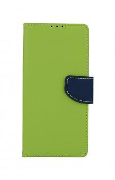 Knížkové pouzdro na Samsung A71 zelené