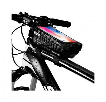Vodotěsné pouzdro WildMan E2 na rám kola černé XL