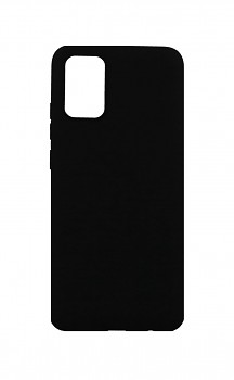 Zadní silikonový kryt Forcell Soft na Samsung A02s černý