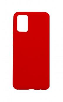 Zadní silikonový kryt Forcell Soft na Samsung A02s červený
