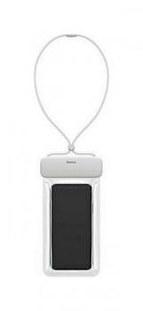 Vodotěsné pouzdro na mobil Baseus Let's Slip bílé