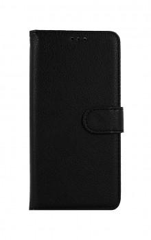Knížkové pouzdro na Samsung A52 černé s přezkou