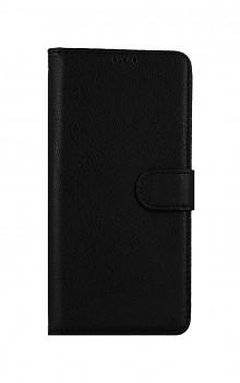 Knížkové pouzdro na Samsung A12 černé s přezkou