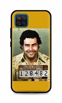 Zadní silikonový kryt DARK na Samsung A12 Pablo Escobar