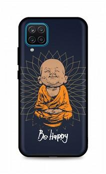Zadní silikonový kryt DARK na Samsung A12 Be Happy