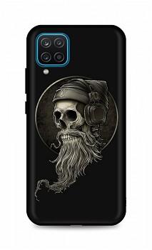 Zadní silikonový kryt DARK na Samsung A12 Music Skeleton