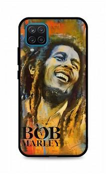 Zadní silikonový kryt DARK na Samsung A12 Bob Marley