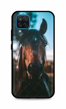 Zadní silikonový kryt DARK na Samsung A12 Horse