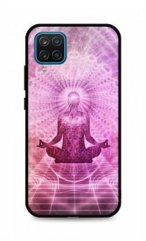 Zadní silikonový kryt DARK na Samsung A12 Energy Spiritual