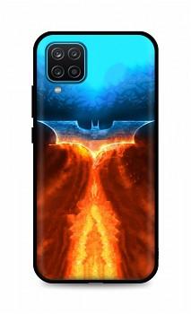 Zadní silikonový kryt DARK na Samsung A12 Fiery Batman