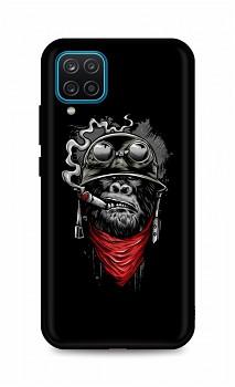 Zadní silikonový kryt DARK na Samsung A12 Gorilla
