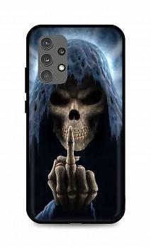 Zadní silikonový kryt DARK na Samsung A32 Fuck Off