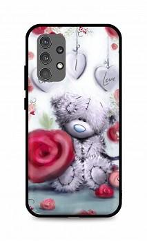 Zadní silikonový kryt DARK na Samsung A32 Teddy Bear