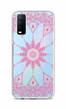 Zadní silikonový kryt na Vivo Y11s Pink Mandala