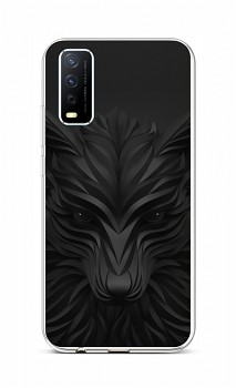Zadní silikonový kryt na Vivo Y11s Černý vlk