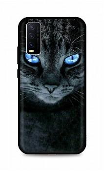 Zadní silikonový kryt DARK na Vivo Y20s Dark Cat