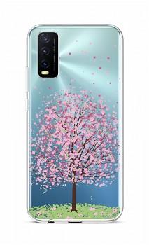 Zadní silikonový kryt na Vivo Y20s Blossom Tree