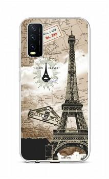 Zadní silikonový kryt na Vivo Y20s Paris 2