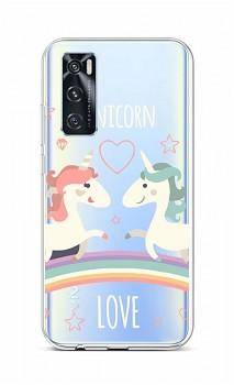 Zadní silikonový kryt na Vivo Y70 Unicorn Love