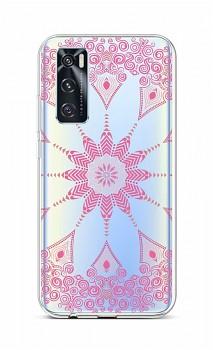 Zadní silikonový kryt na Vivo Y70 Pink Mandala