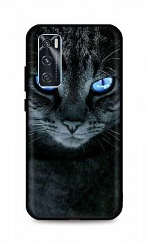 Zadní silikonový kryt DARK na Vivo Y70 Dark Cat