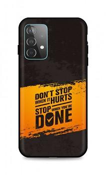 Zadní silikonový kryt DARK na Samsung A52 Don´t Stop