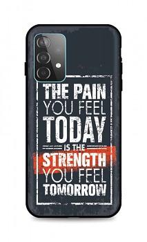 Zadní silikonový kryt DARK na Samsung A52 Strength