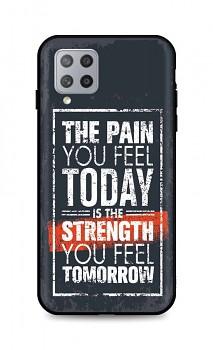 Zadní silikonový kryt DARK na Samsung A42 Strength