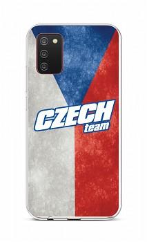 Zadní silikonový kryt na Samsung A02s Czech Team