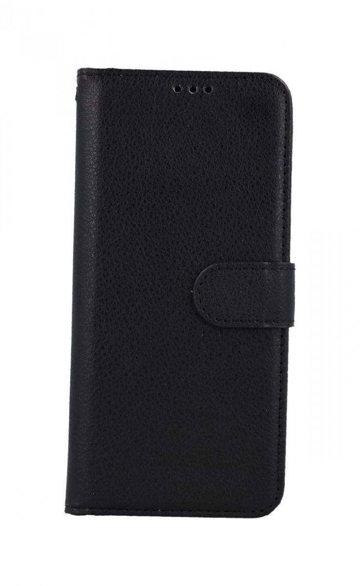 Pouzdro TopQ Vivo Y70 knížkové černé s přezkou 57026 (kryt neboli obal Vivo Y70)