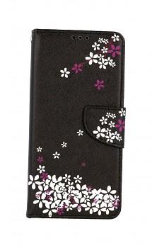 Knížkové pouzdro na Samsung A12 Květy sakury