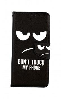 Knížkové pouzdro na Samsung A12 Don't Touch