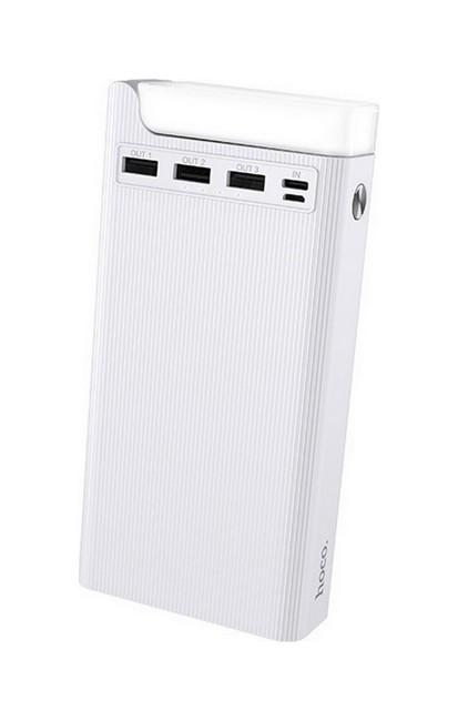 Powerbank HOCO J62 Jove 30000mAh bílá 57040