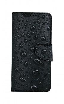 Knížkové pouzdro na Samsung A12 Kapky