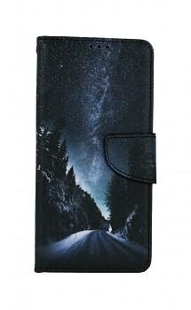 Knížkové pouzdro na Samsung A12 Zimní cesta