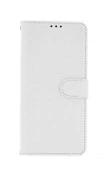 Knížkové pouzdro na Samsung A12 bílé s přezkou